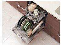 リンナイ製(TOTO) KSMW045FRSDXXXA 食器洗い乾燥機R(フロントオープン・通いかご) 〇食洗機