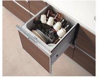 リンナイ製(TOTO) KSMW045QRBPXXXB 食器洗い乾燥機R(I型スリム用) ブラック 〇食洗機