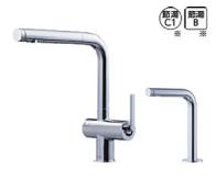 TOTO製(TOTO) KETEKC38SE 水ほうき水栓LF(浄水器兼用・ハンドシャワー式・エアイン)+「きれい除菌水」生成器 ▼浄水器 一般地用