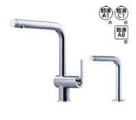 TOTO製(TOTO) KETEKC35SET タッチスイッチ水ほうき水栓LF(ハンドシャワー式・エアイン)+「きれい除菌水」生成器 ◎キッチン水栓 一般地用