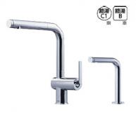 TOTO製(TOTO) KETKC35SE 水ほうき水栓LF(ハンドシャワー式・エアイン)+「きれい除菌水」生成器 ◎キッチン水栓 一般地用