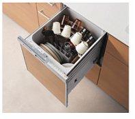 リンナイ製(TOTO) KEMW045QRBPXXXB 食器洗い乾燥機R ブラック 〇食洗機