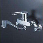 KVK製(KVK)MSK110KRFUT シングルレバー式シャワー付混合栓 ◎キッチン水栓 一般地用