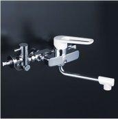 KVK製(KVK)MSK110KYB 給湯接続専用シングルレバー式混合栓 ◎キッチン水栓 一般地用