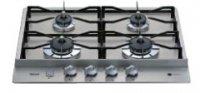 リンナイ製(WOODONE)UDGR003-6N-NS グリルレスガス加熱機器 P型専用 ステンレストップ[ドロップイン]  ●ガスコンロ