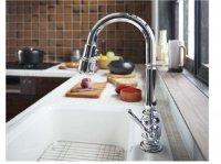 KOHLER製(WOODONE)UDFX002-HH-C 海外製 ハンドシャワー混合水栓 ◎キッチン水栓 一般地用