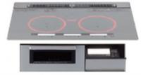 パナソニック製(NASLUCK)CHVRS7XP 3口IHダブルオールメタル ▽IHクッキングヒーター
