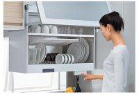 タカラスタンダード システムキッチン  KEL-C075D36 電動昇降吊戸棚(乾燥機能付)  □オプション