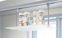 リクシル  リシェル  WDTG030 アイレベル収納  ライトスルーウォール専用  ガラス中間棚 □オプション