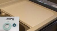 HASTKFNGWMC ヤマハ マルチクックカウンター トップオープン食洗機用人工大理石フタ 施工キット付 送料込(北海道・沖縄・離島は追加費用あり)