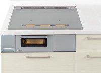 パナソニック製(Panasonic)QSSYS37SK  シルバー  3口IH 鉄・ステンレス対応 YSシリーズ   YSタイプ ▽IHクッキングヒーター ※納期約2週間