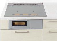 パナソニック製(Panasonic) JUGSYS36SK シルバー  3口IH 鉄・ステンレス対応 YSシリーズ   YSタイプ ▽IHクッキングヒーター ※納期約2週間