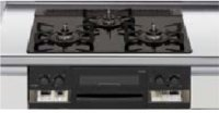リンナイ製(LIXIL)R3635B1W1K   3口コンロ・ガラストップ 無水両面焼グリル  トップ間口60cm ●ガスコンロ  ※納期約2週間