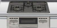 リンナイ製(LIXIL)R1633C0WHV 3口コンロ・ホーロートップタイプ トップ間口60cm ●ガスコンロ