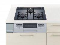 ハーマン製(Panasonic)VJSW32T6W ガラストップ 両面焼きグリル  幅60cm  ●ガスコンロ