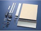 パナソニック 食洗機用 シンク下設置部材キット シルバー N-KH450S