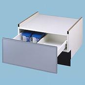 パナソニック 食洗機用 W600 専用下部収納キャビネット シルバー N-PC600S