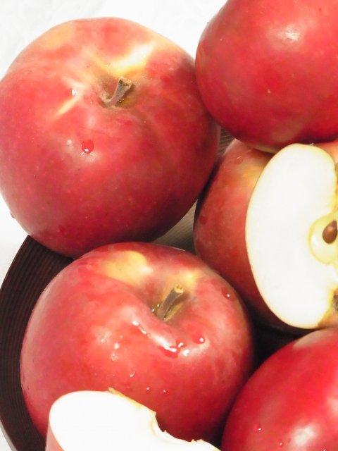 オホーツク産「旭」/昔懐かし甘酸っぱいりんご Lサイズ 8Kg【セール価格】