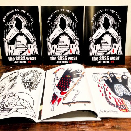 (送料込み)theSASSwear-ART BOOK-