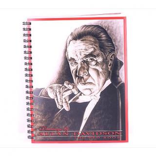 アラン・デビッドソン 「RED BOOK」有名人ポートレート画集