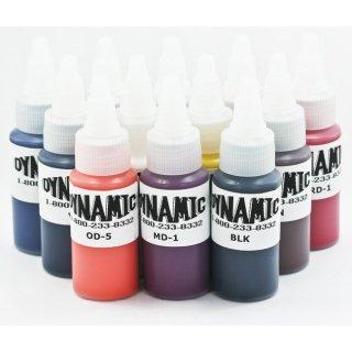 DYNAMIC ダイナミック タトゥーインク 主要カラー 12色セット