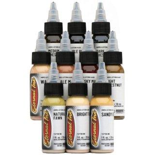 ETERNAL INK エターナルインク Andrea Afferni 人物画用 タトゥーインク 10色セット