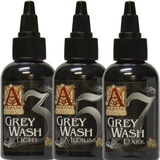 ARCANE Tattoo Ink アルカン タトゥーインク Grey Wash 3 Bottle Set グレーウォッシュ 3本セット