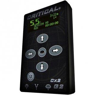 2台同時接続可 Critical Tattoo CX-2 Generation 2 タトゥー デジタルディスプレイ マイクロ パワーサプライ