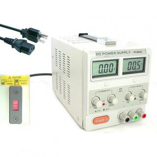 110V/220V対応 DC パワーサプライ HY3003D