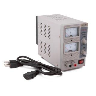 110V/220V対応 DC パワーサプライ HY1502C メーター式電圧計タイプ