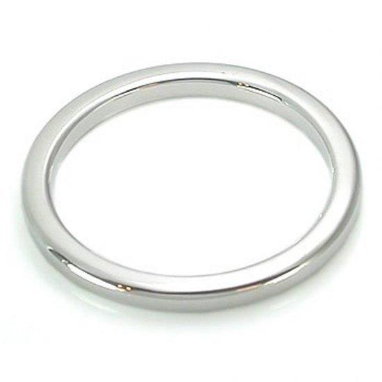 【アダルト用品】 光沢磨き仕上げ ステンレス製 コックリング 厚さ5MM