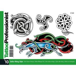 イタリア直輸入 プロフェッショナルシリーズ ケルト族 バイキング 285種 タトゥーデザイン本