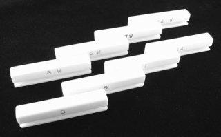 4種セット テフロン製 グルーピング ジグ タトゥーマシン用 ニードル 作成用道具