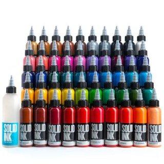 50色 デラックスセット SOLID INK ソリッドインク オーガニック タトゥーインク