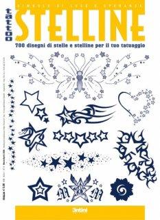 LITTLE STARS TATTOO 小さな星 スター 下絵 タトゥーデザイン本