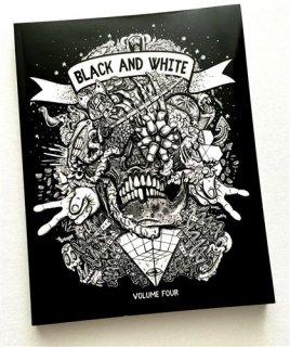 BLACK & WHITE VOLUME FOUR ブラック&ホワイト TATTOO VOL4 タトゥーデザイン本