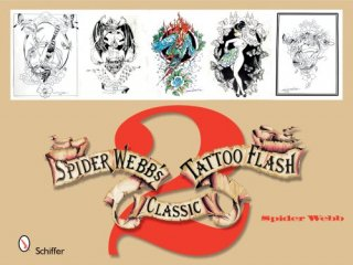 SPIDER WEBB'S 第ニ巻 スパイダーウェブ アメリカントラディッショナル タトゥー 下絵フラッシュ 本