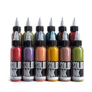 SOLID INK ソリッドインク Opaque 12 Color Set 28ml 12本セット