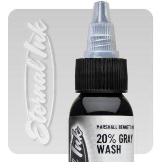 ETERNAL INK エターナルインク Marshall Bennett 20% Gray Wash タトゥーインク