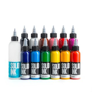 SOLID INK ソリッドインク Spectrum 12 Color Set 28ml 12本セット