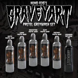 WORLD FAMOUS ワールド・フェイマス Nuno Feio Graveyart Set タトゥーインク 6色セット