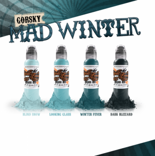 WORLD FAMOUS ワールド・フェイマス  Mad Winter 4色セット