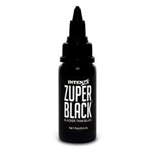 INTENZE インテンツ タトゥーインク ZUPER BLACK 1oz