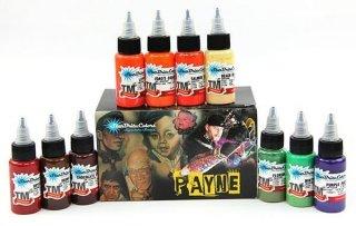 STARBRITE スターブライト Payne Portrait Series タトゥーインク 10色セット
