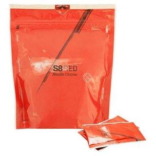 S8 Red タトゥーニードルクリーナー 小包装パック