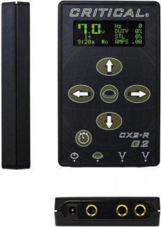 二台同時接続可能 Critical Tattoo CX2R-G2 タトゥー デジタルディスプレイ マイクロ パワーサプライ