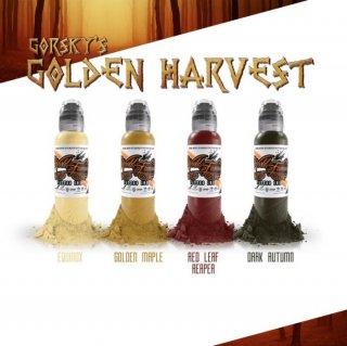 WORLD FAMOUS ワールド・フェイマス  Damian Gorski監修 Golden Harvestセット 4色セット