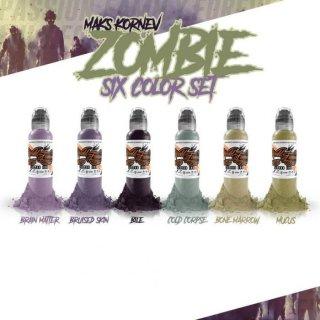 WORLD FAMOUS ワールド・フェイマス Zombieセット 6色セット