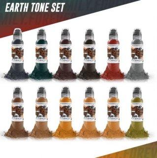 WORLD FAMOUS ワールド・フェイマス アーストーン タトゥーインク 12色セット