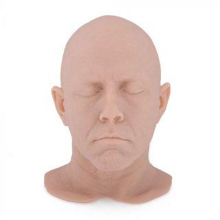 シリコン製 タトゥー練習用 顔&頭部スキン